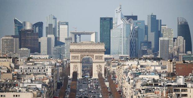 Paris, La Défense, bureaux, immobilier, entreprises, France,