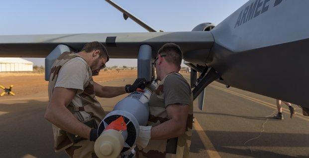 Drone Male Reaper Armée de l'air Barkhane