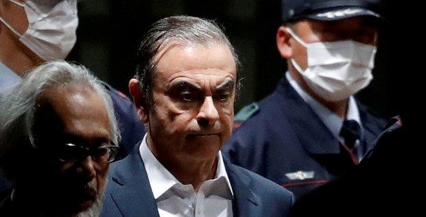 Carlos ghosn dit se trouver au liban, nie fuir la justice japonaise