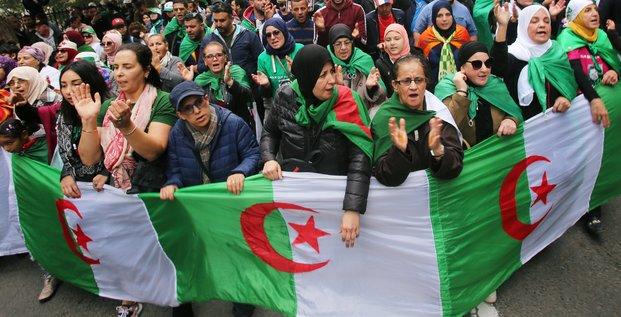 Quarantieme vendredi de contestation en algerie
