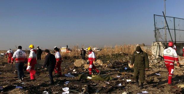 Un boeing 737 d'ukraine airlines s'ecrase en iran, au moins 170 morts