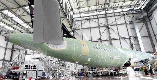 Airbus portera a 7 la production mensuelle d'a320 sur son site d'alabama d'ici 2021