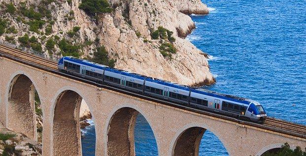 H316, LT2, SNCF, régions Viaduc Niolon, Marseille, PACA
