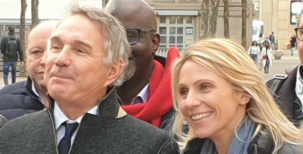 Patrick Vignal (LREM) et Anne Brissaud (NC) font alliance