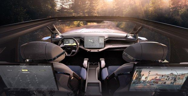 Faurecia, cockpit du futur