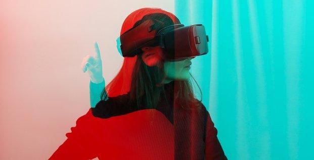 H318-p10, French Tech 120, réalité virtuelle, VR, iStock