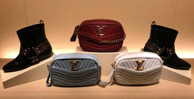 Produits Louis Vuitton dans un magasin de New York