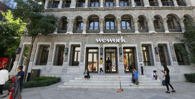 Espace co-working WeWork en Chine