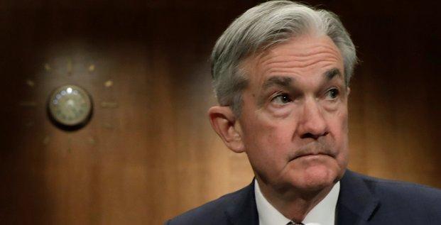 L'economie us est forte, la fed prete a agir, dit powell