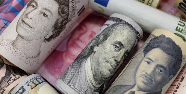 Euro, dollar, yen, livre, yuan