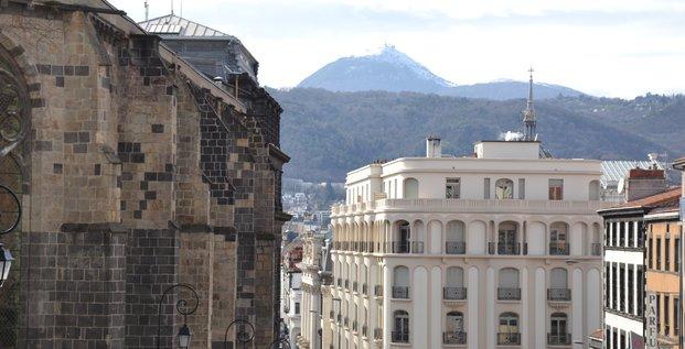 Vu de Clermont-Ferrand