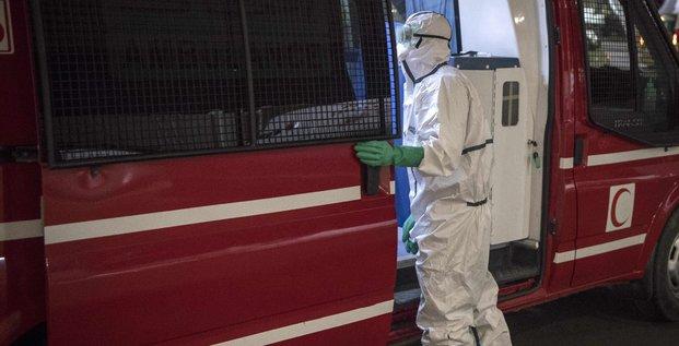 ambulance technicien coronavirus epidemiologie