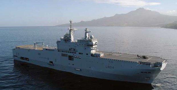 Armée Coronavirus Service de santé des armées (SSA) BPC Marine nationale