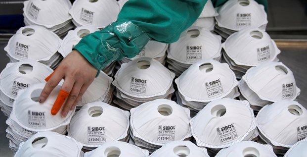 Coronavirus: la chine envoie un million de masques en france