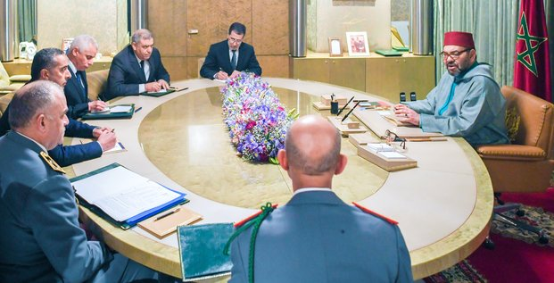 Mohammed VI reunion coronavirus
