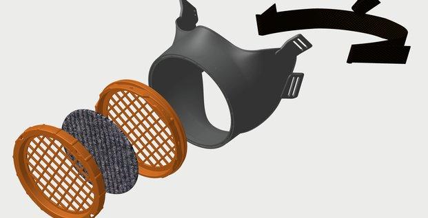 Masque réutilisable Ouvry