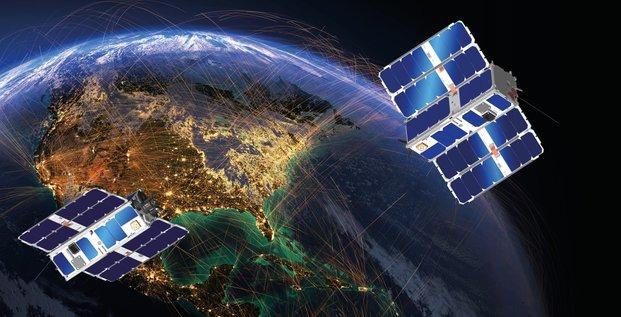 Thales Alenia Sapce Omnispace constellations nano-satellites