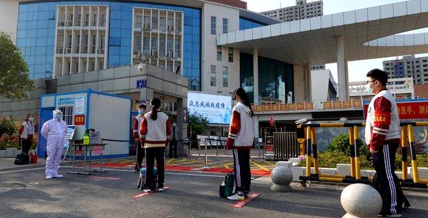 Coronavirus: les nouvelles contaminations en chine au plus haut depuis debut mars