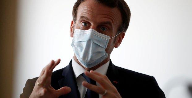 Macron appelle a ne pas etre naifs face a la gestion chinoise du coronavirus
