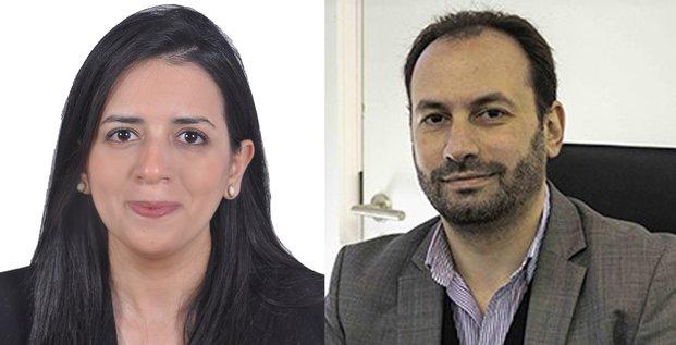 Hafsa El Bekri et Hicham Sebti