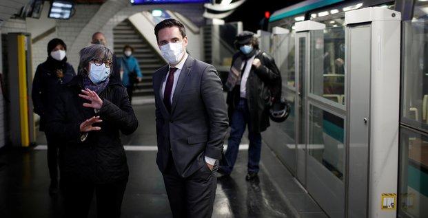 Le port du masque dans les transports respecte a 95% en ile-de-france