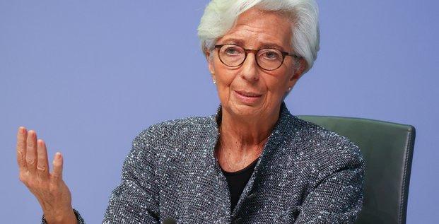 Lagarde (bce) salue un plan franco-allemand ambitieux, insiste sur la symetrie entre les pays
