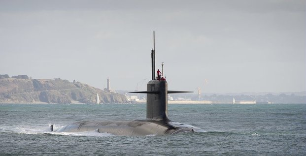 Dissuasion nucléaire sous-marins nucléaire lanceur d'engins SNLE Marine nationale Naval Group