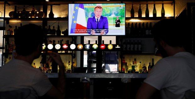 Macron, allocution télévisée, dimanche 14 juin 2020