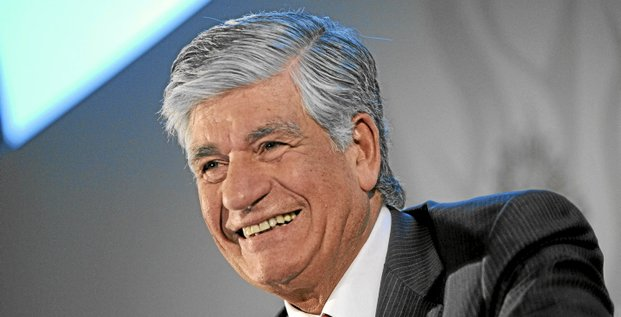 Maurice Levy, chief executive officer of Publicis Group SA, reacts during a news conference to announce company results in Paris, France, on Thursday, Feb. 10, 2011. Publicis, owner of the Leo Burnett ad agency, said 2010 profit rose 31 percent on revenue from North America and emerging markets and