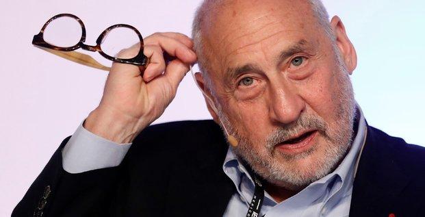 Joseph Stiglitz, prix Nobel d'économie, lors d'un congrès à Mexico, le 19 juin 2017
