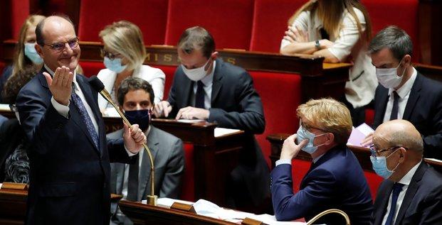 Castex, Assemblée nationale,