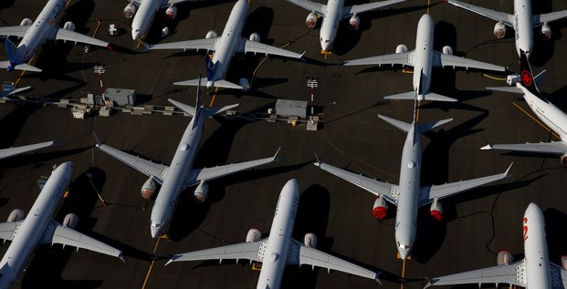 Boeing annonce 355 annulations de commandes pour le 737 max a fin juin