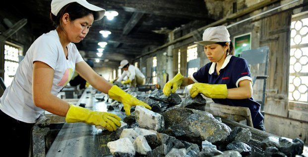 Tungstène, Chine, métaux, minerai