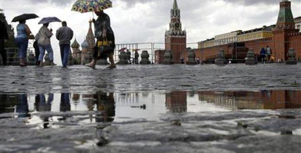CONTRACTION DE 10,9% DU PIB RUSSE AU 2E TRIMESTRE