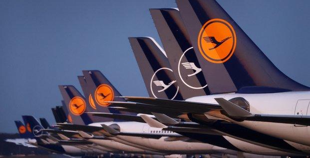 Lufthansa a suivre a francfort