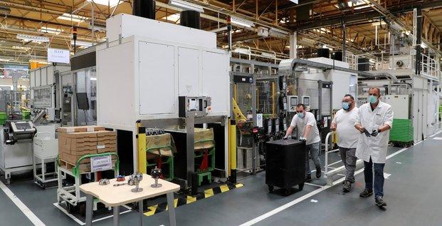France: poursuite du redressement de la production industrielle en juin
