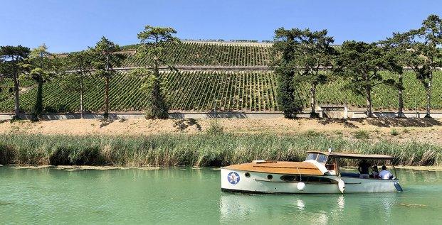 Tourisme viticole sur la Marne