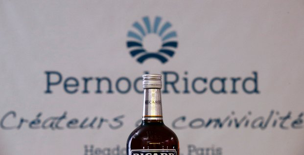 Pernod ricard grimpe, barclays confiant pour l'exercice 2021