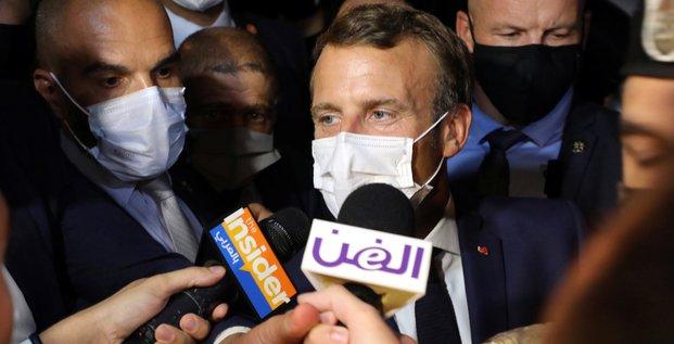 Macron, Beyrouth, Liban, Fairouz