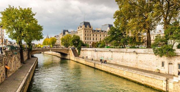 L'eau de la Seine rafraîchit Paris