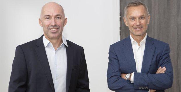 Ronan Le Moal et Charles Cabillic