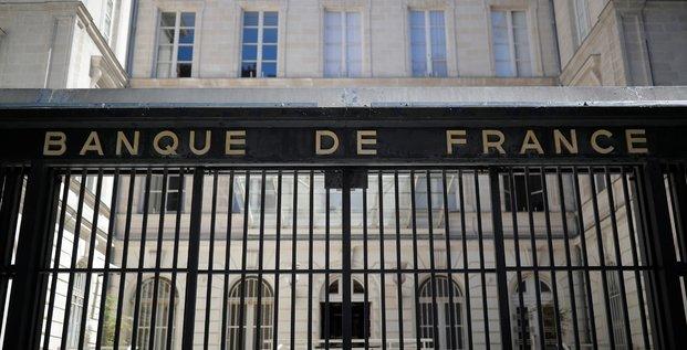 La banque de france prevoit une contraction moins forte que prevu du pib en 2020, de -8,7%