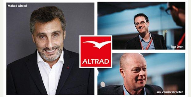 Nouvelles têtes à la direction du groupe Altrad