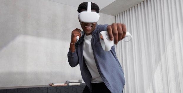 réalité virtuelle Facebook Oculus Quest 2
