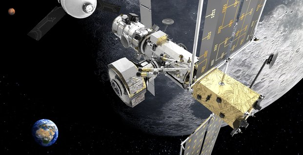 Thales Alenia Space Artemis Lune I-HAB Esprit