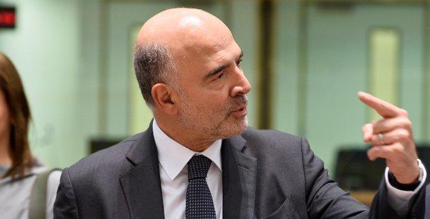 Moscovici, Bruxelles, 2019