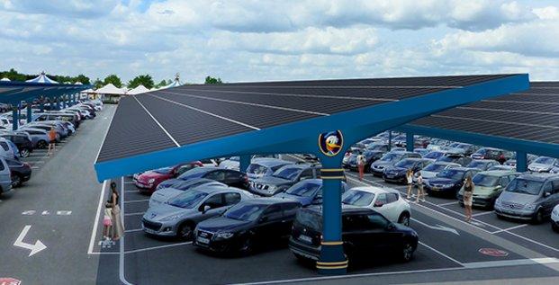 Urbasolar installe une centrale solaire géante à Disneyland Paris