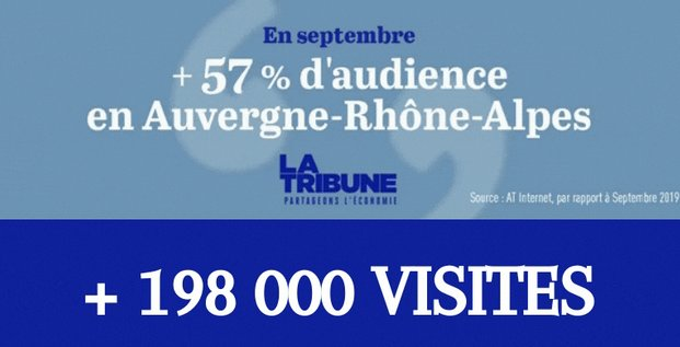 Audiences La Tribune AuRA
