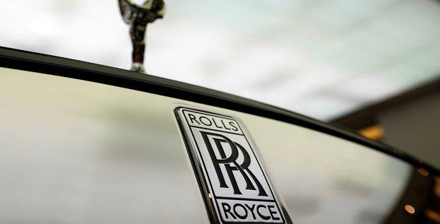 Rolls-royce  est a suivre a la bourse de londres