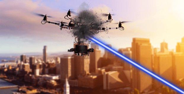 CILAS ArianeGroup laser drone
